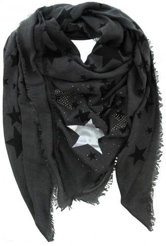 9711f5c74d2afc riesiges Luxus Dreieckstuch mit Sternen in 3 Farben
