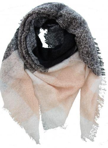 a9ddd7dcfaafb0 kuschelweicher Schal mit Muster in 5 Farben